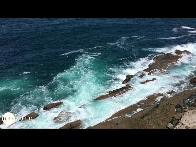 Farben, Wetter, (Aus-)Blick: Auf dem Weg nach Santander stimmt alles