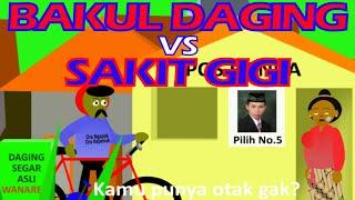 "Animasi Lucu Asli Ngapak Curanmor ""BAKUL DAGING VS SAKIT GIGI"" teks Indonesia (Andrian Javanese)"
