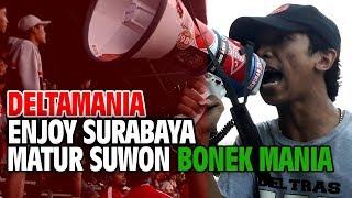 Enjoy Surabaya, Terima Kasih Bonek Mania. Surabaya Muda Vs Deltras