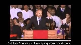 Kevin Costner funeral de Whitney Houston (Subtitulos español Part 1)