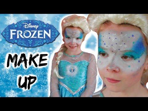 Elsa Frozen schmink voor kinderen