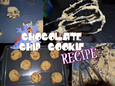 Baking & Chocolate Chip Cookie Recipe!!