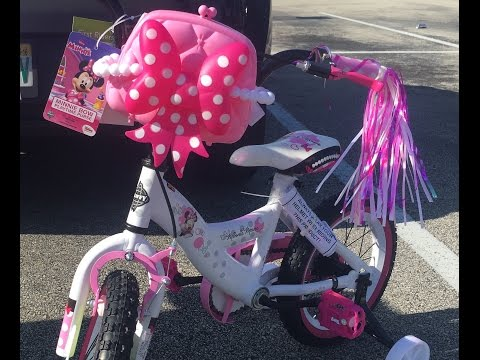 The prettiest Minnie Mouse Bike EVER!!!!!