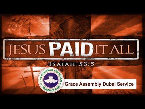 RCCG Grace Assembly Dubai Forgiveness Service