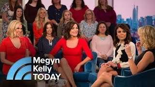 Real Housewives Of New York Bethenny Frankel, Luann De Lesseps And Ramona Singer | Megyn Kelly TODAY