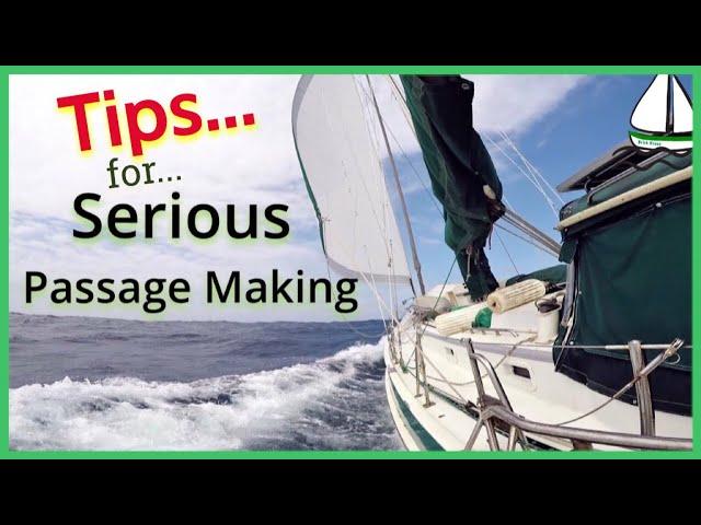 Sailing the Storms of Africa/Passage Preparation (Zanzibar-Dar) Patrick Childress Sailing Tips #36