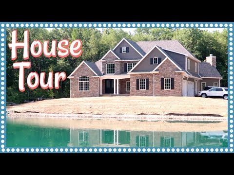 OUR EMPTY HOUSE TOUR & WHOLE HOUSE CONSTRUCTION MONTAGE
