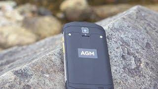 Защищенный смартфон AGM A8 3/32Gb от компании 1CLICK  Электроника из Китая и США - видео