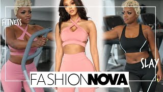 Fashion Nova Fitness : Try On Haul Athletic Wear #Cutegymclothes