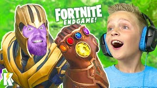 My Dad is THANOS! Fortnite ENDGAME on K-City GAMING