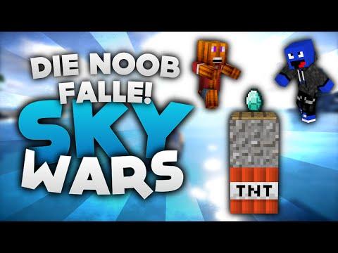 Die NOOB FALLE! - Minecraft Sky Wars! | DieBuddiesZocken