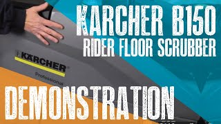 Karcher B150 Demo Video