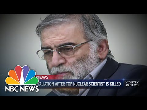 Tensions Run High in Iran After Murder Of Nuclear Mastermind | NBC Nightly News