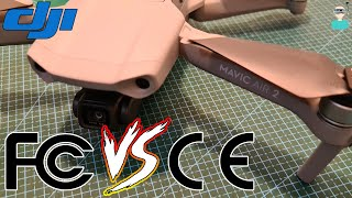 DJI Mavic Air 2 - EU Vs US Versions (FCC Vs CE)