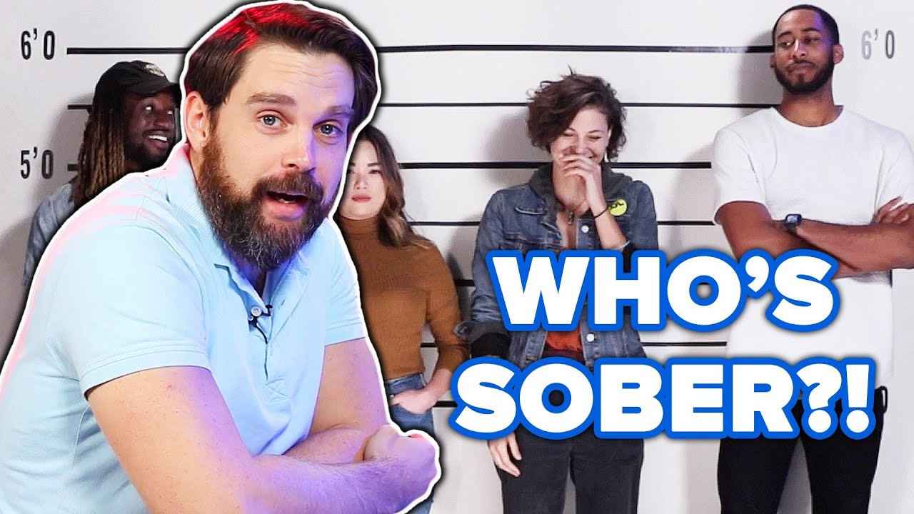 Private Investigator Guesses Who's Sober Out Of A Lineup thumbnail