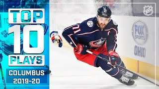 Top 10 Blue Jackets Plays of 2019-20 ... Thus Far   NHL