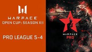Warface Open Cup: Season XII. Pro League 5-4