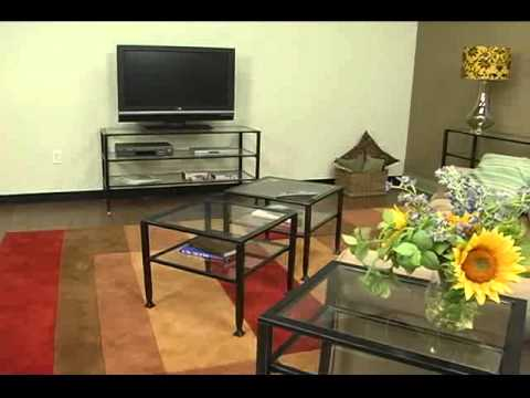 Video for Metal End Table - Black