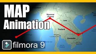 Indiana Jones Map Animation | Filmora Effects