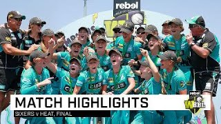 Heat complete triumph against the odds | Rebel WBBL|04