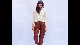 Real Leather Pants for Women