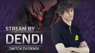 Dota 2 Stream: Na`Vi Dendi playing Shadow Fiend (Gameplay & Commentary)