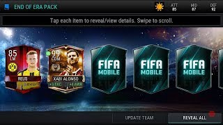 Fifa mobile - End of Era pack opening