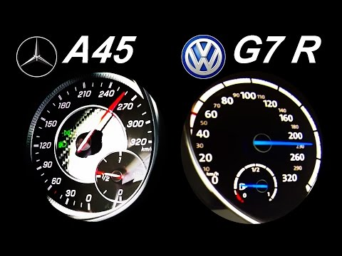 Volkswagen  Golf R Хетчбек класса C - тест-драйв 2