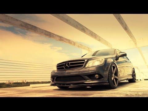 Mercedes Benz C-Class C350 on 19'' Vossen VVS-CV3 Concave Wheels / Rims