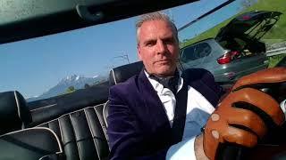 Driving the upper class Rolls Royce Corniche Mulliner Park Ward Convertible!
