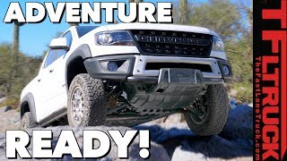 Is the Chevy Colorado ZR2 Bison GM's Ranger Raptor Fighter?
