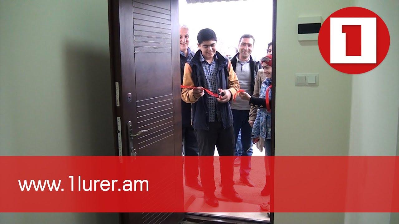 Արցախից տեղահանված ևս երկու ընտանիք բնակարան է ստացել Ներքին Կարմիրաղբյուր գյուղում