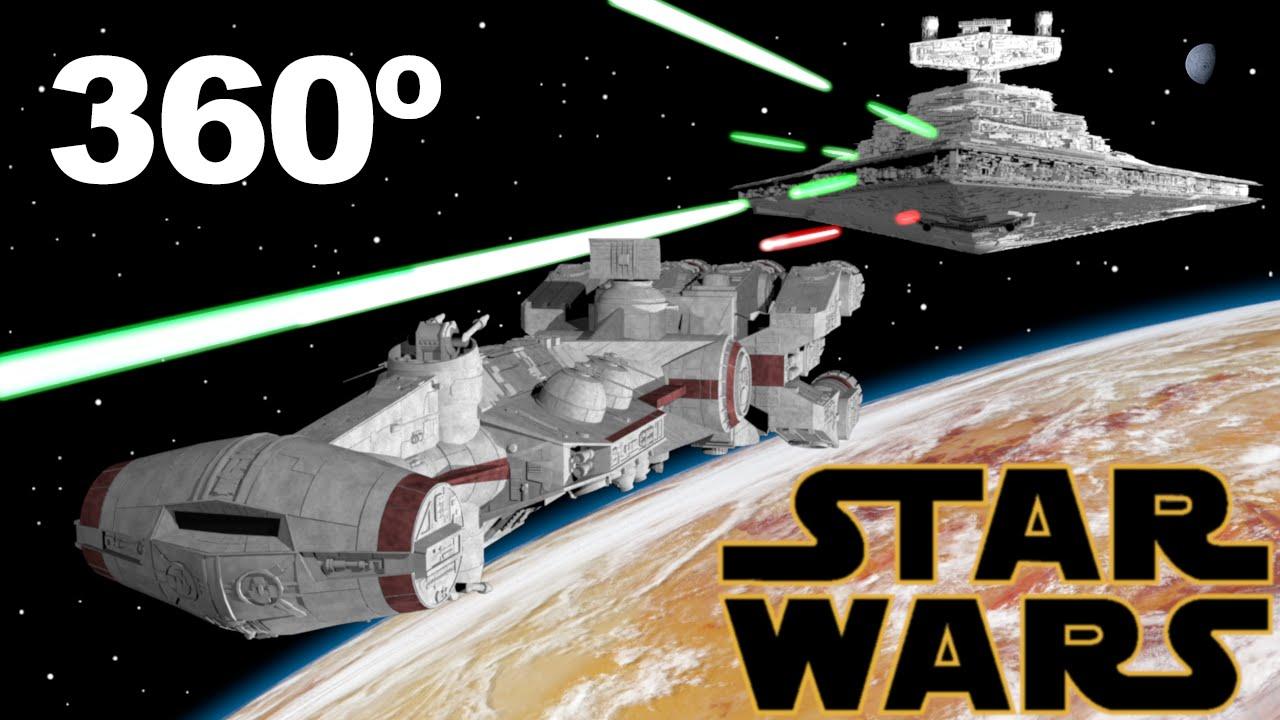 La guerra de las galaxias: una nueva esperanza, versión 360°