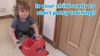 When to start Potty Training. The 8 Signs of Readiness
