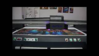 How to Print Gridding Cloths by APEX UV1610