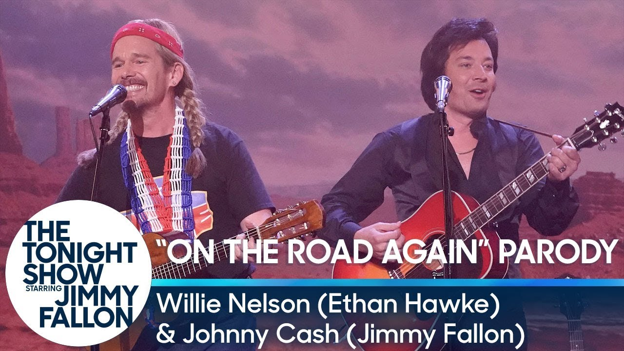 """On The Road Again""/""Let's Just Stay Here"" Duet with Willie Nelson and Johnny Cash thumbnail"