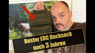 bester EDC Rucksack nach 3 Jahren? | günstig und gut