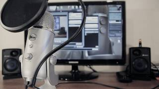 מיקרופון קונדנסר - Blue Yeti USB Microphone Platinum Edition(חדש חדש!!)