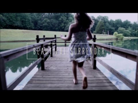 Beautiful Surrender // Official Lyric Video // Jonathan & Melissa Helser