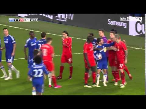 Chelsea vs Liverpool 1-0 Capital One Cup Semifinal