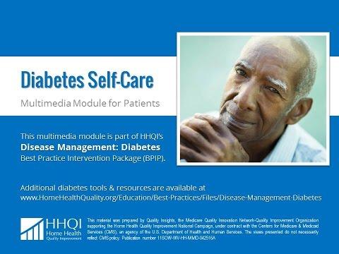 Péče o pacienty s diabetem