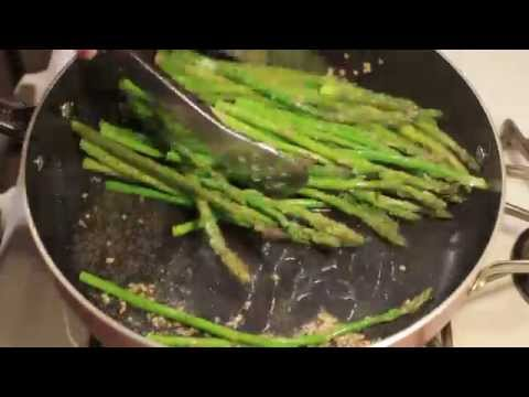 Video How to Cook Asparagus in a Pan