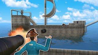PIRATE SHIP BATTLE! - Garry