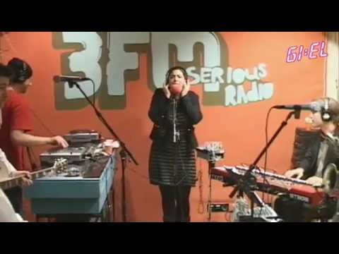 CARO EMERALD  STUCK WITH YOU   LIVE @ GIEL 3FM