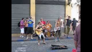 Rocking on the streets of Buenos Aries, Argentina