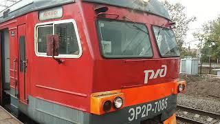 ЭР2Р-7085 На станции Кунцево