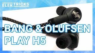Bang & Olufsen B&O Play H5 kabellose Bluetooth Kopfhörer Test Review Deutsch #ElekTricks - Robin.tv
