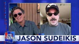 Jason Sudeikis Gives Stephen Advice On His Biden Impression