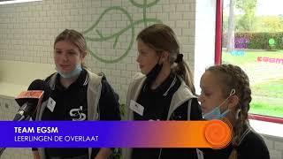 Leerlingen De Overlaat presenteren initiatieven klimaatstraat