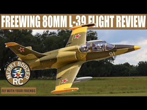 Freewing L-39 80mm  New Camo Paint! Great First Scale Jet. Flight review.